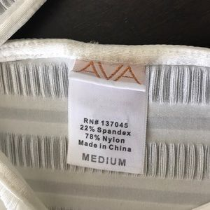 Dresses - AVA Medium White Dress / swim cover
